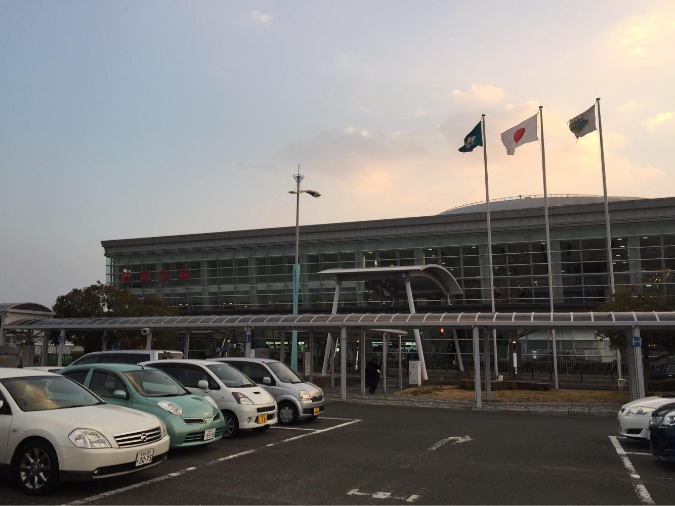 佐賀空港ってどうよ!?実際に利用してみると意外と便利だった!何日泊めても駐車場無料!