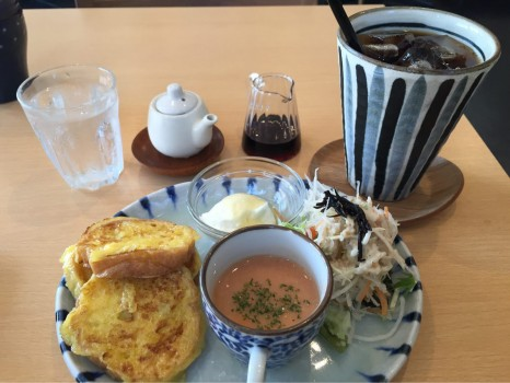 岐阜・羽島で人気のg\u0027n cafe (ジーンカフェ)でフレンチトーストのモーニングプレートを堪能!【岐阜モーニング巡り3軒目】
