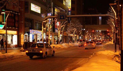 聖なる夜に札幌の街をひとりぶらり歩きー【日本一周鉄道旅行記その6】