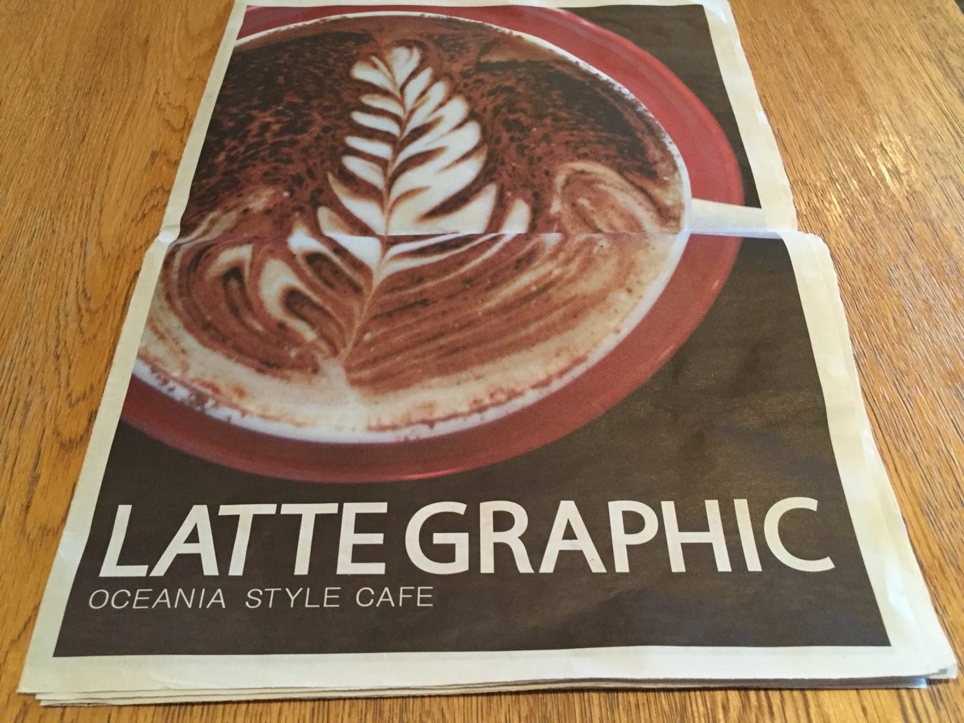 LATTE GRAPHIC メニュー