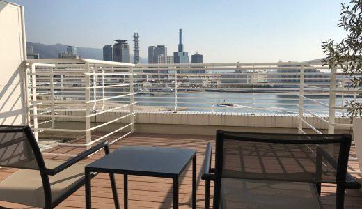 神戸メリケンパークオリエンタルホテル宿泊記 -バルコニーからのオーシャンビュー最高!優雅な朝食を満喫したぞ!
