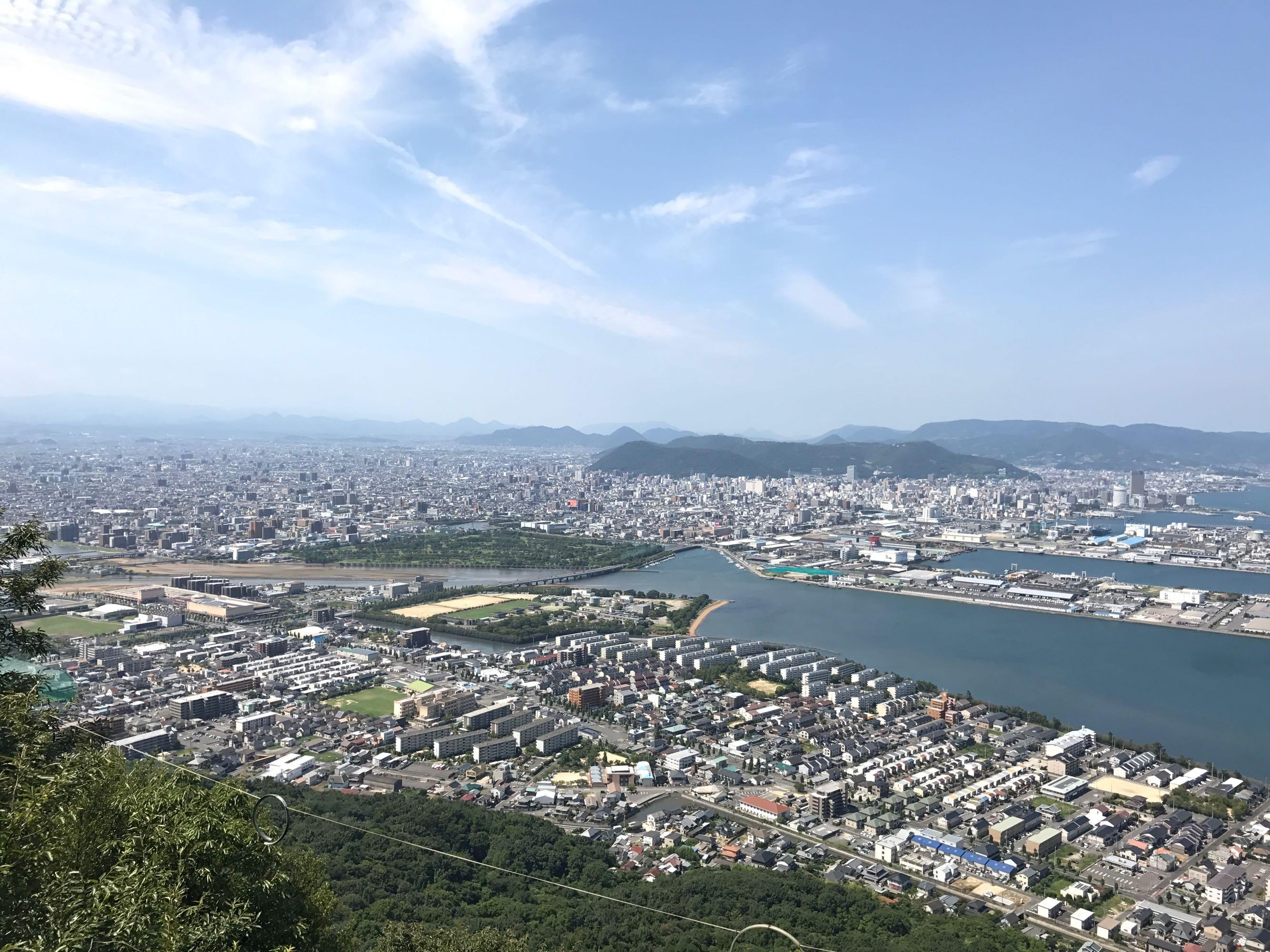 高松の市街地と瀬戸内海を一望!屋島展望台に行ってみた【2017年8月高知・高松旅行記その5】
