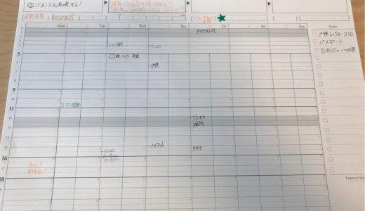 逆算手帳などを活用して日次・週次計画+レビューするPDCAサイクル習慣を復活させます!【ぶっちーの日常】