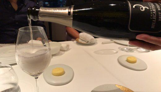 ANAインターコンチネンタル36階「ピエール・ガニェール」訪問レポート。人生初の二つ星レストラン !雰囲気・料理・ワインすべて最高だった!