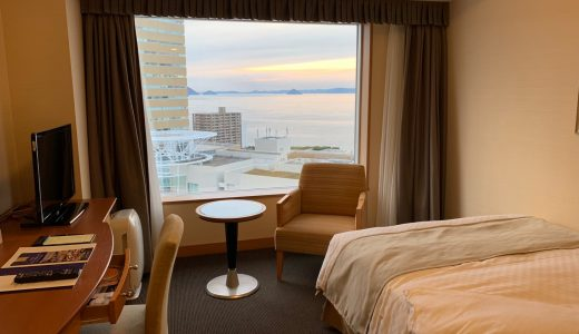 3泊4日の旅行でホテルのグレードを意図的に上げて感じたこと。1泊1万円以下のビジネスホテルとそれ以上のシティホテルでは快適度が全然違う!