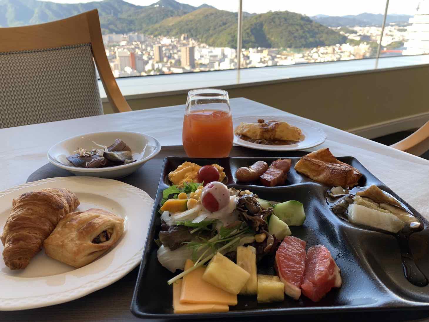 ホテル日航高知 旭ロイヤル 朝食