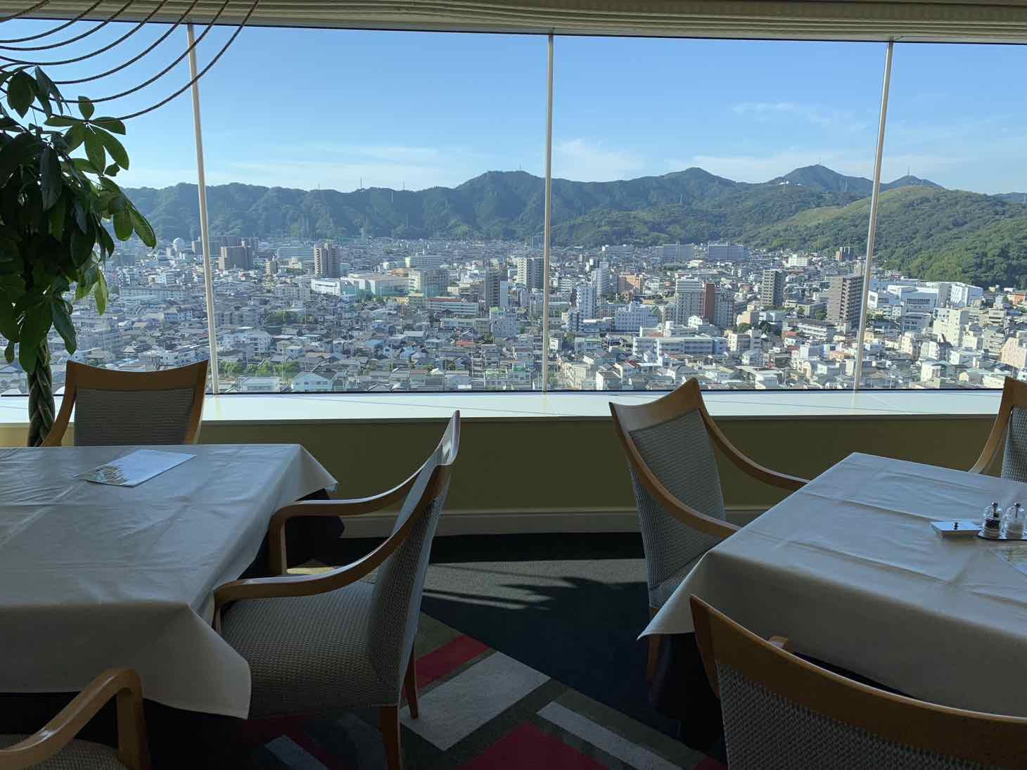 ホテル日航高知 眺望