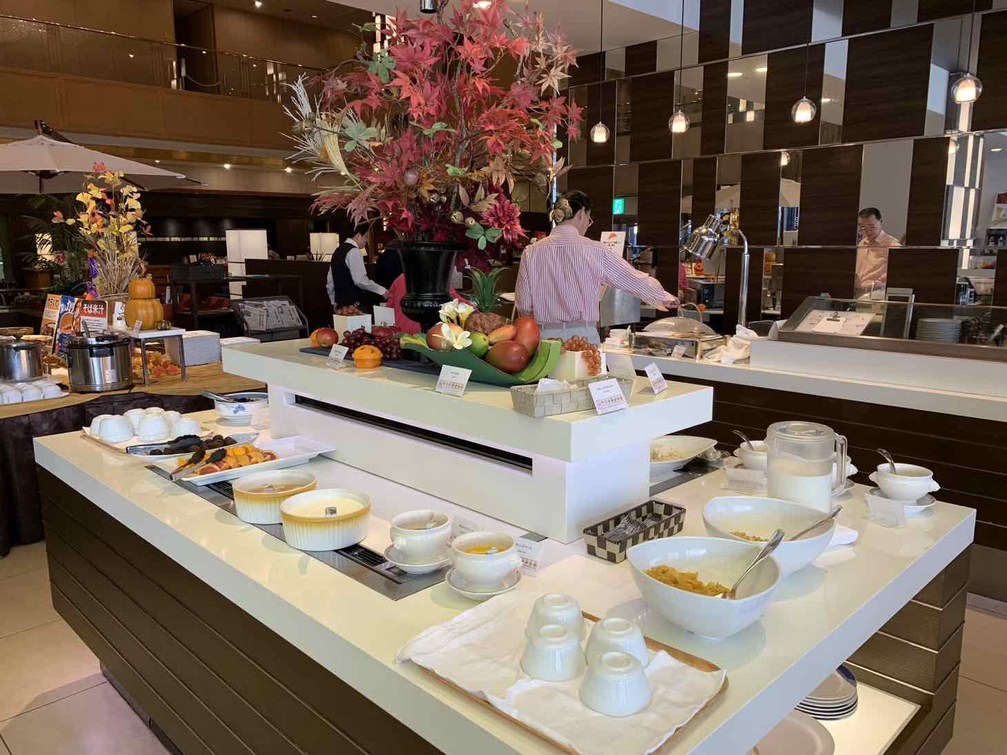 JRホテルクレメント徳島 朝食
