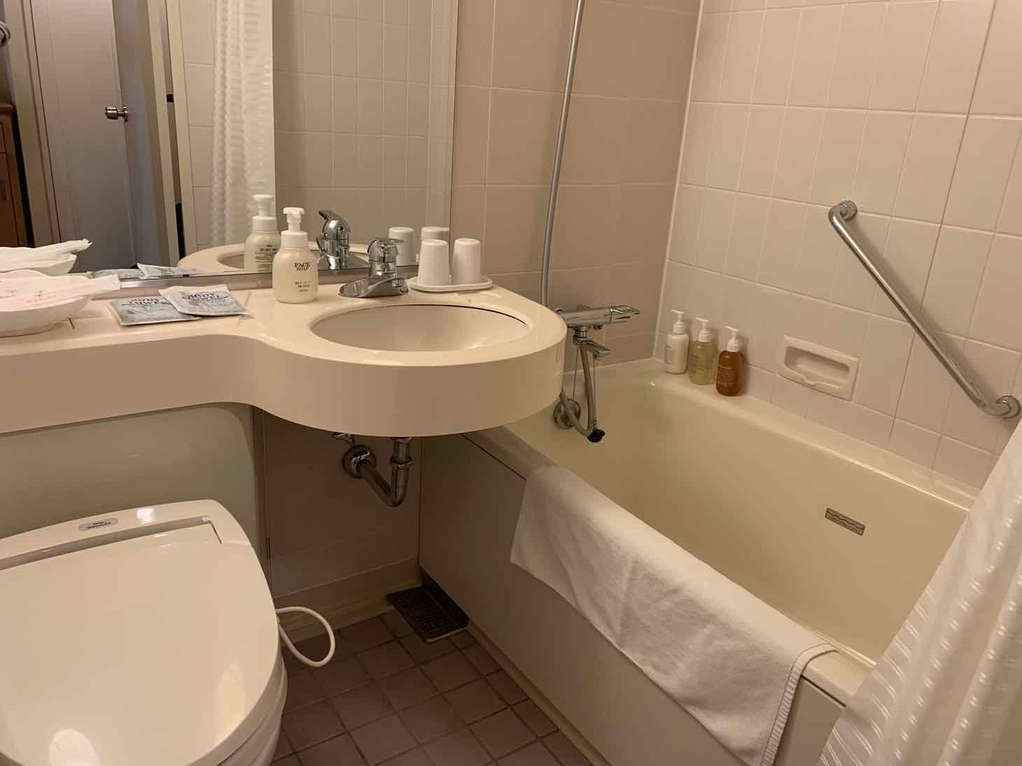 JRホテルクレメント徳島 浴室