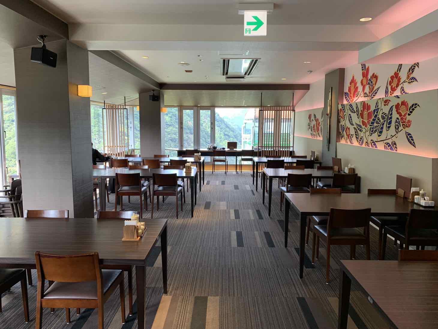 ホテル祖谷温泉 レストラン