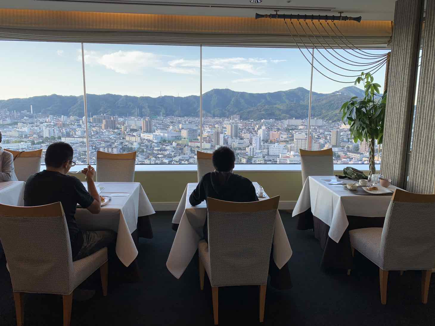 ホテル日航高知 朝食