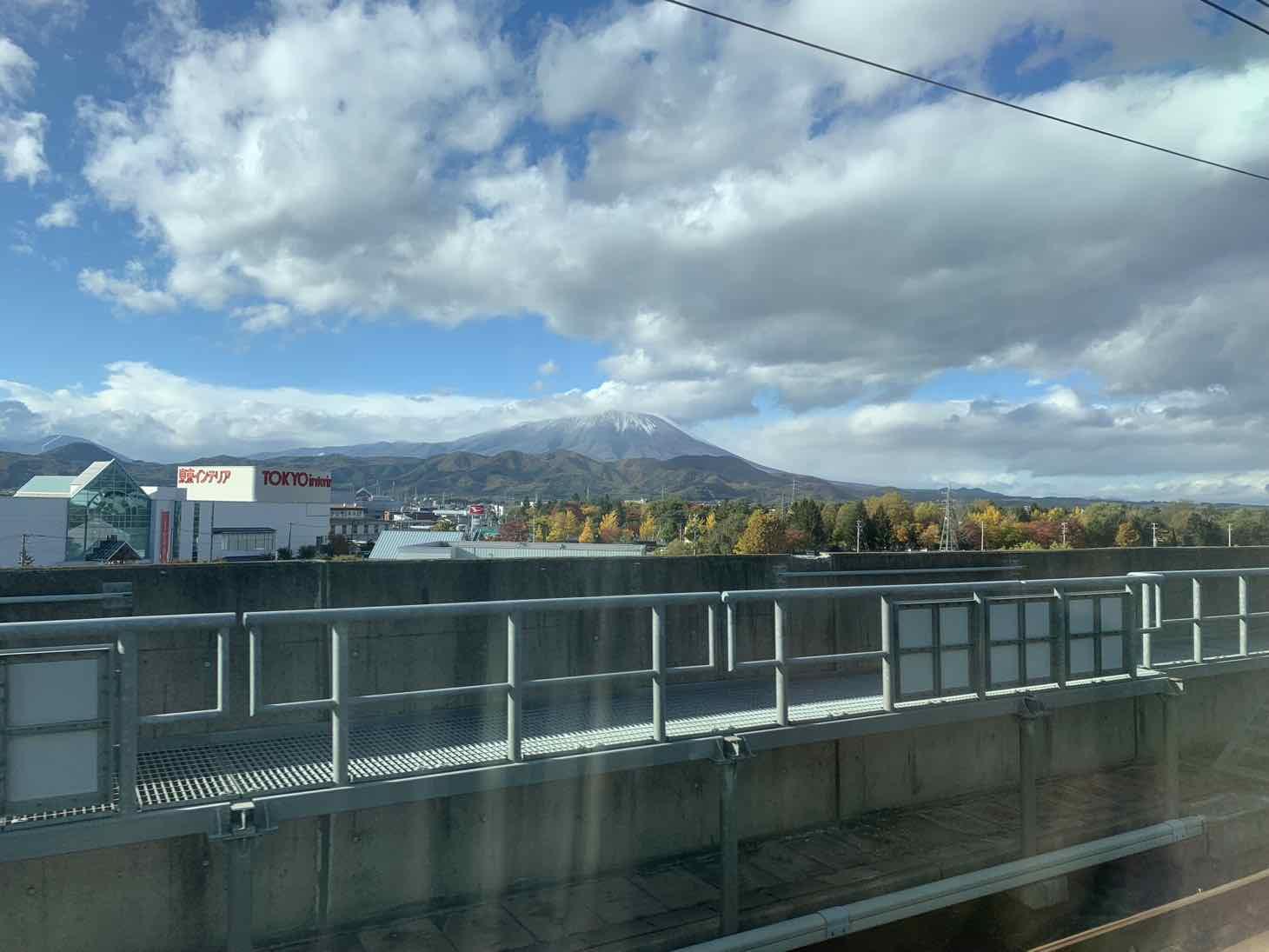 東北新幹線 景色