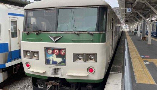 185系「修善寺踊り子」乗り納めの旅!E257系「踊り子」と新旧車両を乗り比べしてきた!